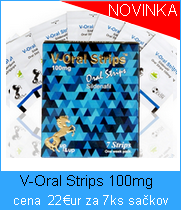 V Oral strips 100mg