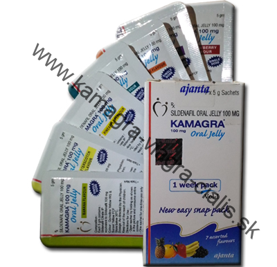 Kamagra Oral Jelly 100mg 14ks